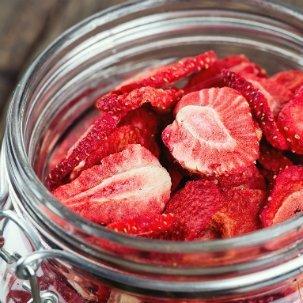 Erdbeerchips