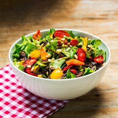 Salat mit Beef Jerky