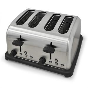 TK-BT-211-S Toaster 4-Scheiben Edelstahl 1650W silber