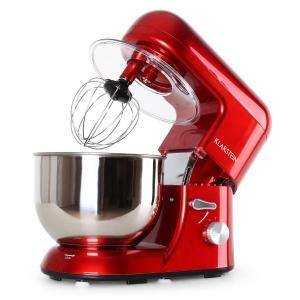 Bella Rossa Küchenmaschine, 1200W 1,6 PS, 5 Liter rot