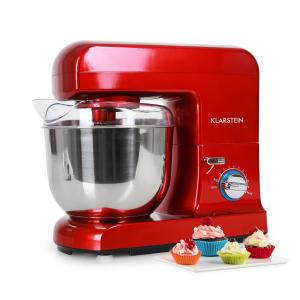 Gracia Rossa Küchenmaschine 1000W 1,3 PS rot