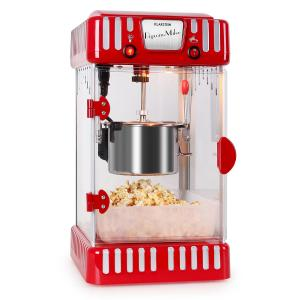 Volcano Popcornmaschine 300W Rührwerk Edelstahl Topf