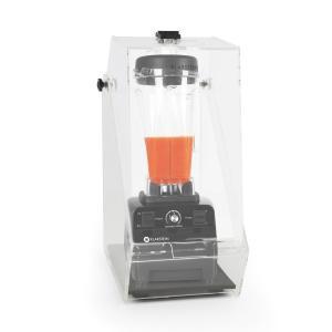 Herakles 3G Standmixer Schwarz mit Cover 1500W 2,0 PS 2 Liter BPA-frei