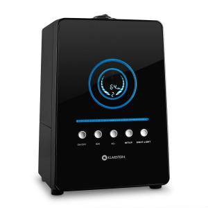 Monaco Digitaler Ultraschall-Luftbefeuchter schwarz