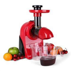Fruitpresso Rosso Entsafter Saftpresse Slow Juicer 150W 80 U min rot