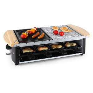 Chateaubriand Raclette-Grill Naturstein-Platte Grill-Platte 1200W