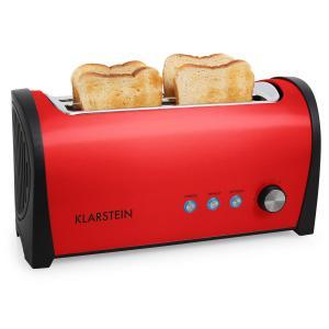 Cambridge Doppel-Langschlitz-Toaster 1400W rot