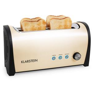 Cambridge Doppel-Langschlitz-Toaster 1400W creme