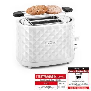 Granada Bianca Toaster 2 Schlitze 1000 W weiß