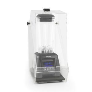 Herakles 8G Standmixer Schwarz mit Cover 1800W 2,4 PS 2 Liter BPA-frei