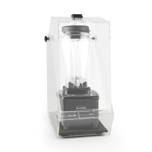Herakles 4G Standmixer Schwarz mit Cover 1500W 2,0 PS 2 Liter BPA-frei