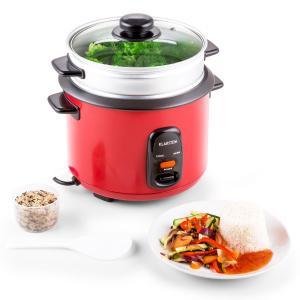 Osaka 1.5 Premium Reiskocher mit Dampfgar Aufsatz 1,5 Liter