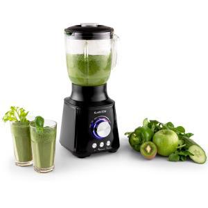 Herakles Standmixer 1000W 1,3 PS 1,5 Liter schwarz Green Smoothie Edelstahl