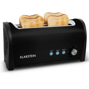 Cambridge Doppel-Langschlitz-Toaster 1400W schwarz