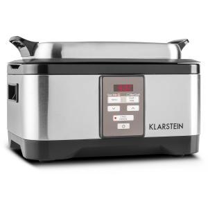 Tastemaker Sous-vide Garer Slow Cooker 6l 550 W Edelstahl silber Silber