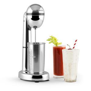 van Damme Drink-Mixer Shaker 100W 450 ml Edelstahl-Mixbecher silber