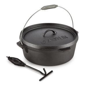 Hotrod 60 Dutch Oven BBQ-Topf 6 qt / 5,7 Liter Gusseisen schwarz