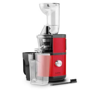 Fruitberry Slow Juicer 400W 60U min Einfüllrohr Ø 8,5cm Edelstahl rot