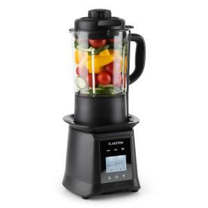 Herakles Heat Suppenmixer 1300W/1,7PS 900W 1,75l BPA-frei Glas schwarz