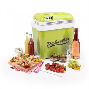 Big Picknicker Thermo-Kühlbox 24L A++ AC DC Auto grün