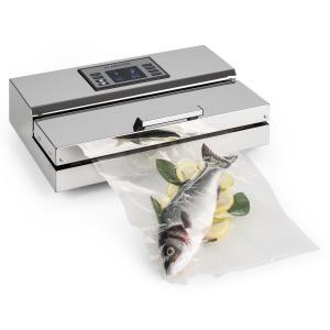 Foodlocker-Chef Vakuumierer -0,95bar / 20l/min / 40cm Edelstahl