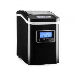 Lannister Eiswürfelbereiter Eiswürfelmaschine 10 kg 24 h schwarz