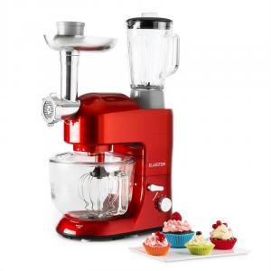 Lucia Rossa 2G Küchenmaschine Mixer Fleischwolf 1200W BPA-frei