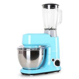 Carina Azzura Set 800W Küchenmaschine plus 1,5L Blender Krug