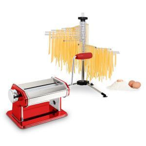 Pasta Set Siena Pasta Maker rot & Verona Pasta Trockner