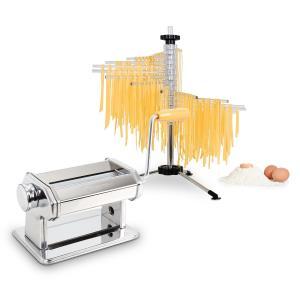Pasta Set Siena Pasta Maker Edelstahl & Verona Pasta Trockner