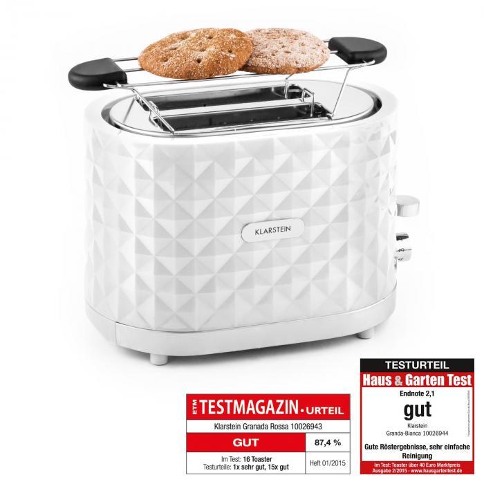 Granada Bianca Toaster