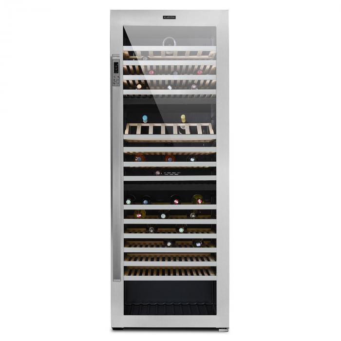 Botella Trium 3-Zonen-Weinkühlschrank Edelstahl