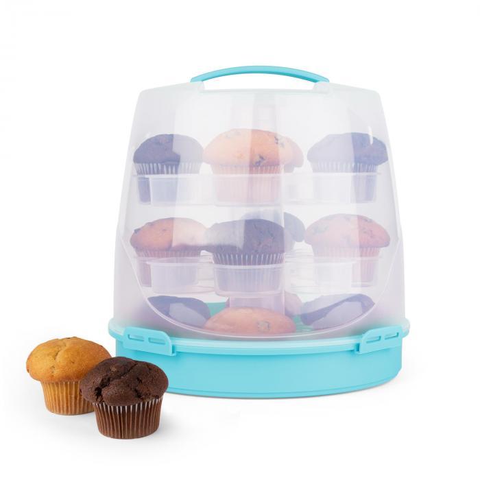 Blaukäppchen Cupcake-Carrier