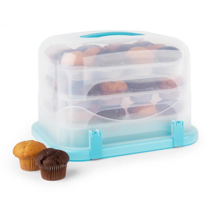 Blaukäppchen XL Kuchenbox blau