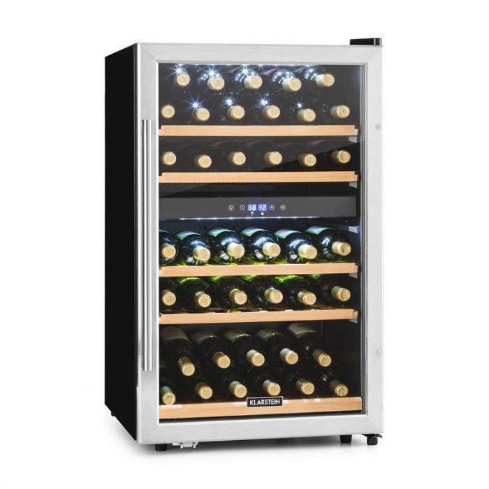 Vinamour 40D Weinkühlschrank 2 Zonen 135 L