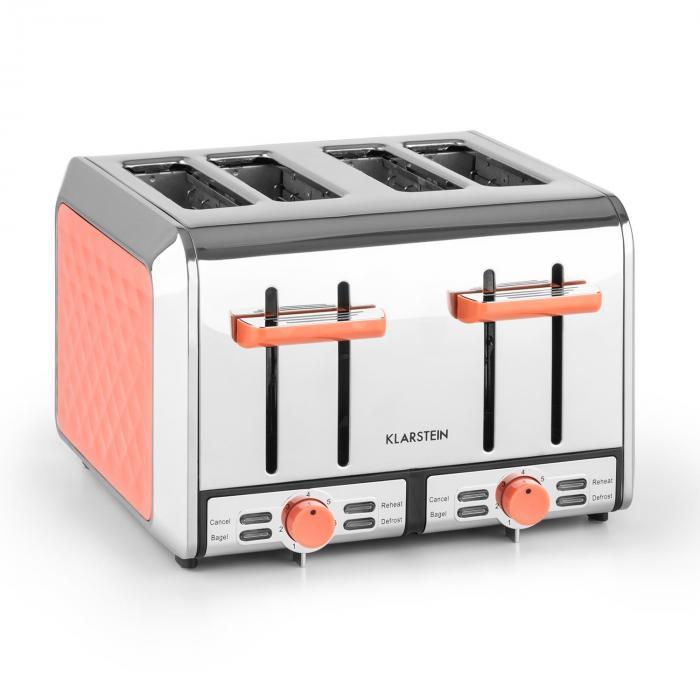 Curacao Coral Toaster 4 Scheiben