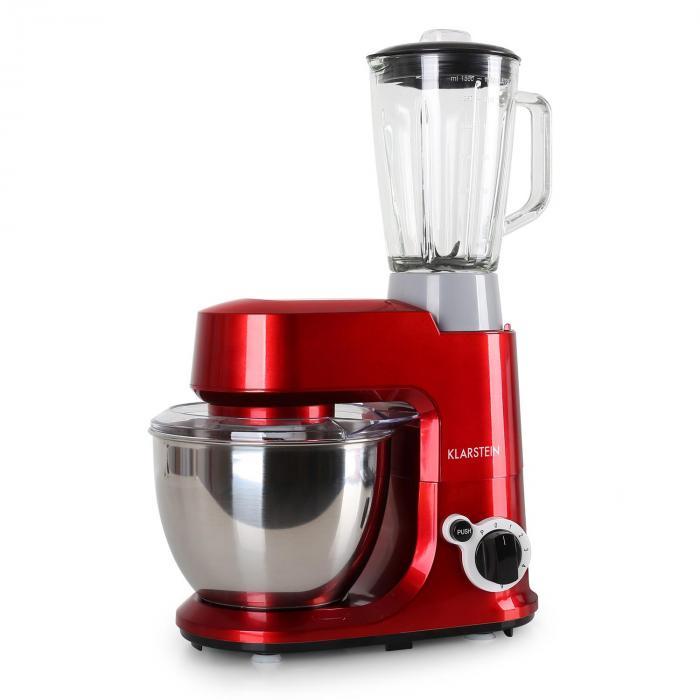 Carina Rossa Küchenmaschine plus Blender
