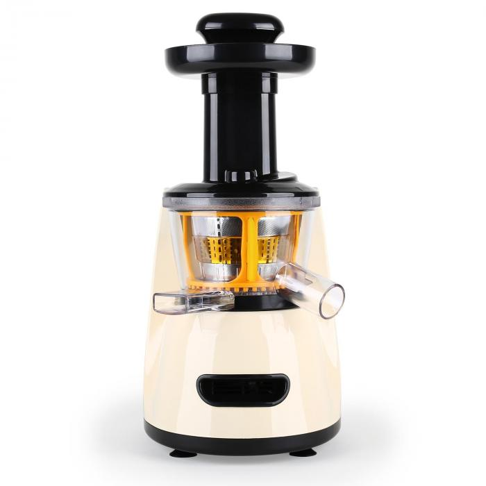 Klarstein Slow Juicer Ersatzteile : Fruitpresso Bella Morena Slow Juicer Saftpresse 150W 70 U/min Creme Klarstein