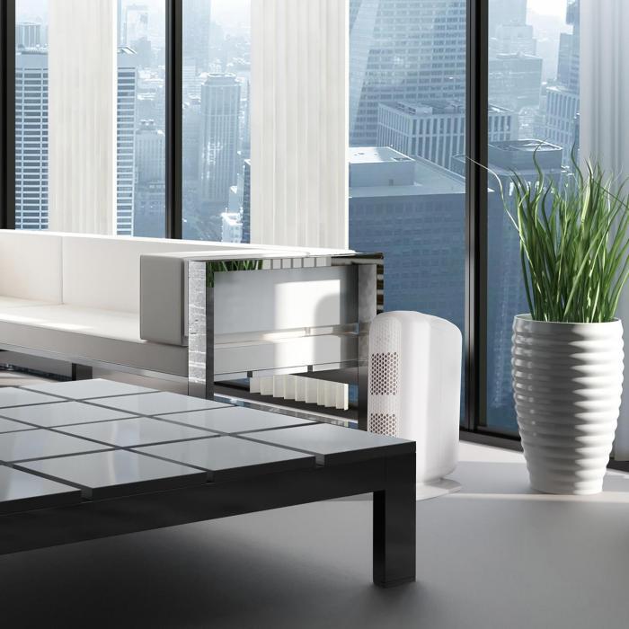 davos 5 in 1 luftreiniger ionisator 101 m h schwarz wei wei klarstein. Black Bedroom Furniture Sets. Home Design Ideas