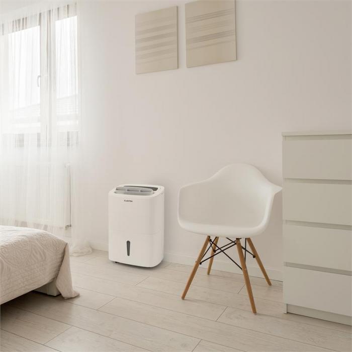 dryfy 30 luftentfeuchter kompression 30l 24h 530w timer wei 30l 24h klarstein. Black Bedroom Furniture Sets. Home Design Ideas