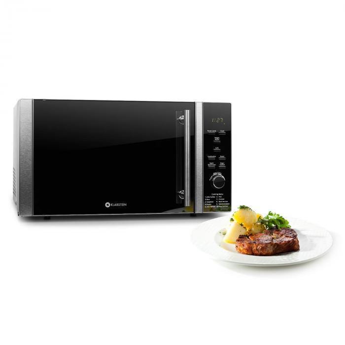 luminance prime mikrowelle mit grill 900w 28l klarstein. Black Bedroom Furniture Sets. Home Design Ideas