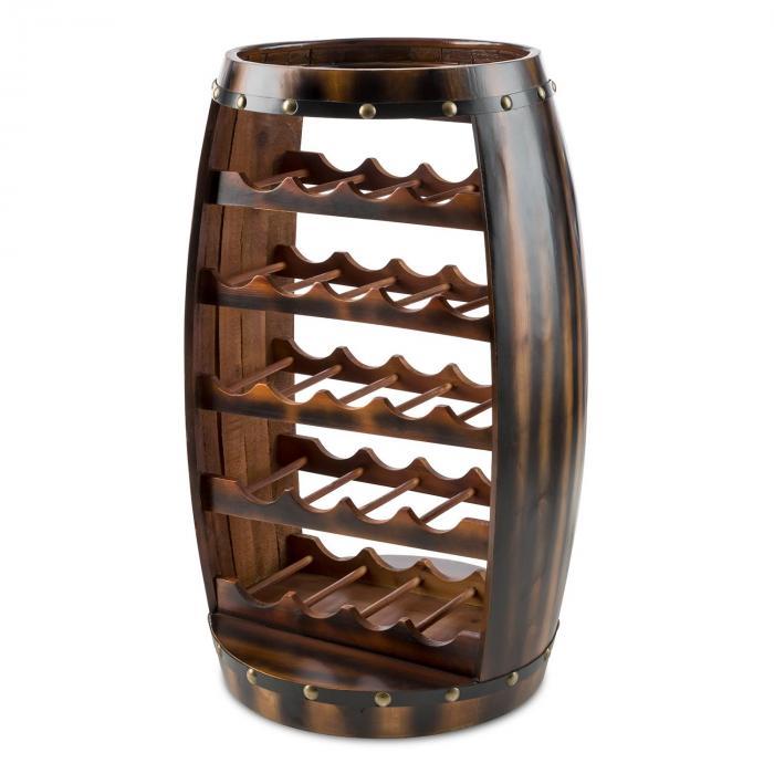 barrica holz weinregal weinfass flaschenst nder 22 flaschen tanne klarstein. Black Bedroom Furniture Sets. Home Design Ideas