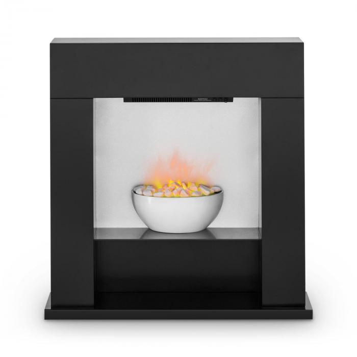 studio 8 elektrischer kamin led flammen 2000w 40m mdf schwarz klarstein. Black Bedroom Furniture Sets. Home Design Ideas