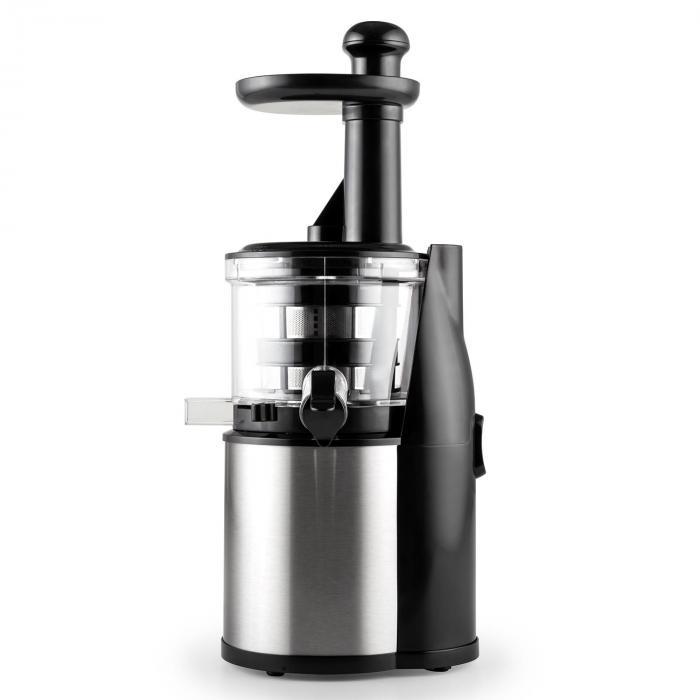 Flowjuicer Entsafter Slow Juicer 200W 80 U/min Edelstahl Klarstein
