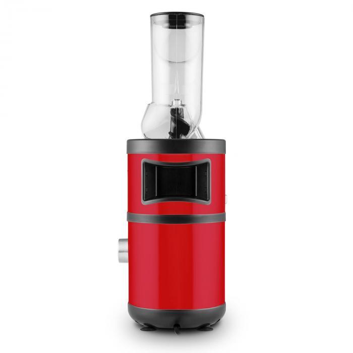 Fruitberry Slow Juicer 400W 60U/min Einfullrohr o 8,5cm Edelstahl rot Rot Klarstein
