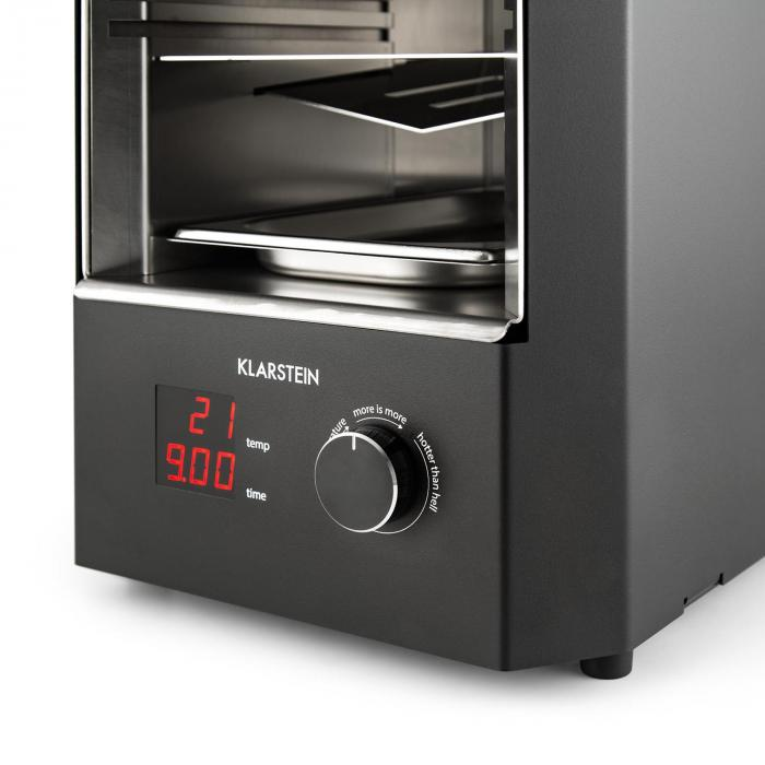 steakreaktor 2 0 indoor grillger t 850 c 1600w infrarot klarstein. Black Bedroom Furniture Sets. Home Design Ideas