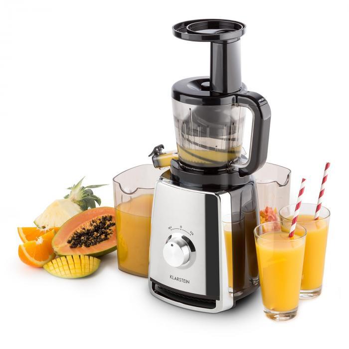 Dr Walker Slow Juicer Extractor : Sweetheart Entsafter Slow Juicer 150W 32U/min Chrom Silber ...
